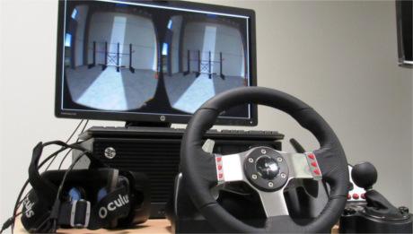 Simulador de carretillas elevadoras con realidad virtual