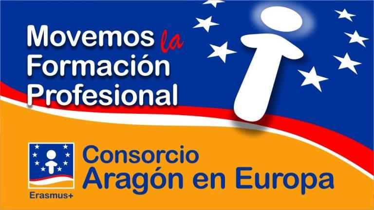 Movemos la Formación Profesional. Consorcio Aragón en Europa