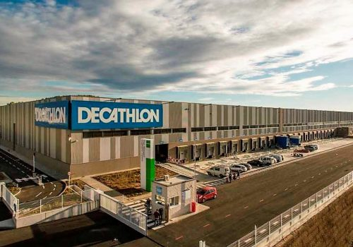Decathlon Logistica Zaragoza